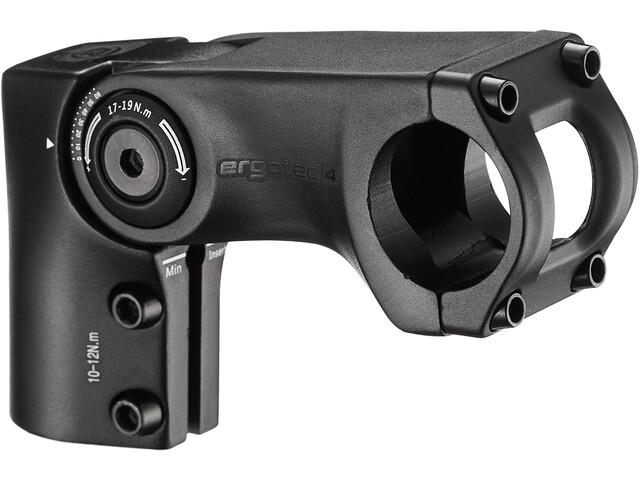 Humpert Ergotec Sepia 50 Ahead-Stem Ø31,8mm 0-60°, czarny